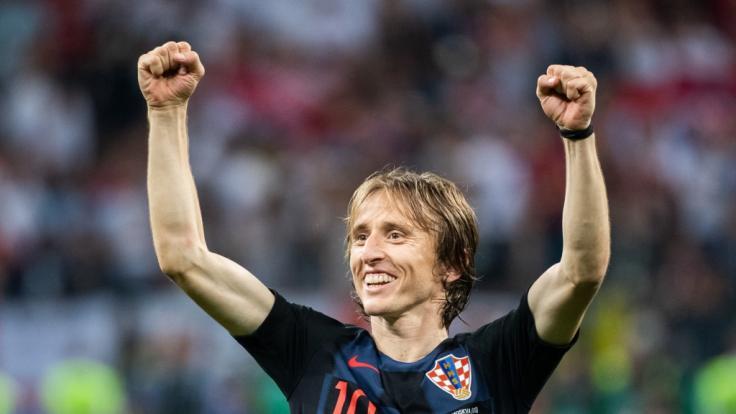 Luka Modric hat es in seiner Karriere weit gebracht.