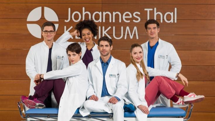 Bei den jungen Ärzten ist auch am Dienstag viel los. (Foto)