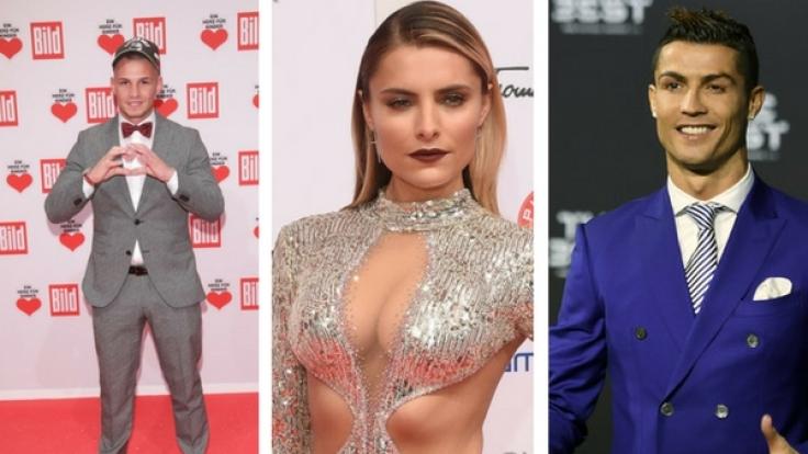 Promi-News der Woche: Sophia Thomalla ist verliebt, Pietro Lombardi heiratet wieder, Cristiano Ronaldo wird wieder Vater.