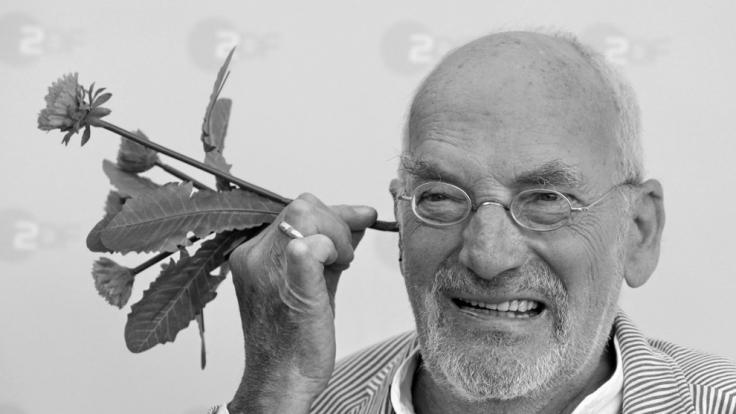 Am 23. Februar 2016 verstarb Peter Lustig im Alter von 78 Jahren. (Foto)