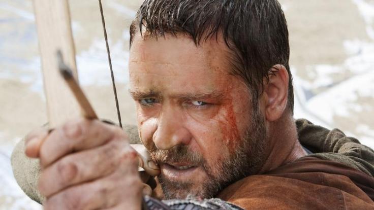 Russel Crowe in der Rolle als Robin Hood. (Foto)