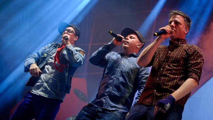 Die drei Hamburger Jungs sind seit 1992 auf den deutschen Bühnen unterwegs und wissen, wie man die Massen anheizt. (Foto)