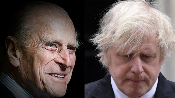 Premierminister Boris Johnson wird nicht an der Beerdigung von Prinz Philip teilnehmen. (Foto)