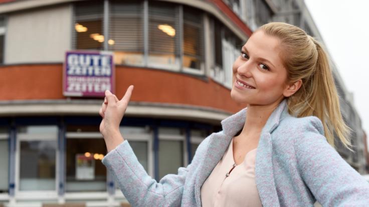 """Valentina Pahde ist Star der RTL-Soap """"Gute Zeiten, schlechte Zeiten"""". (Foto)"""