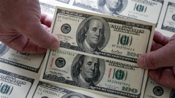 100-Dollar-Noten gibt es. Eine-Million-Dollar-Note nicht. (Foto)