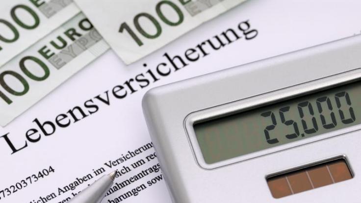 Bewertungsreserven, Überschussanteile, Abschlusskosten: Lebensversicherungen. (Foto)