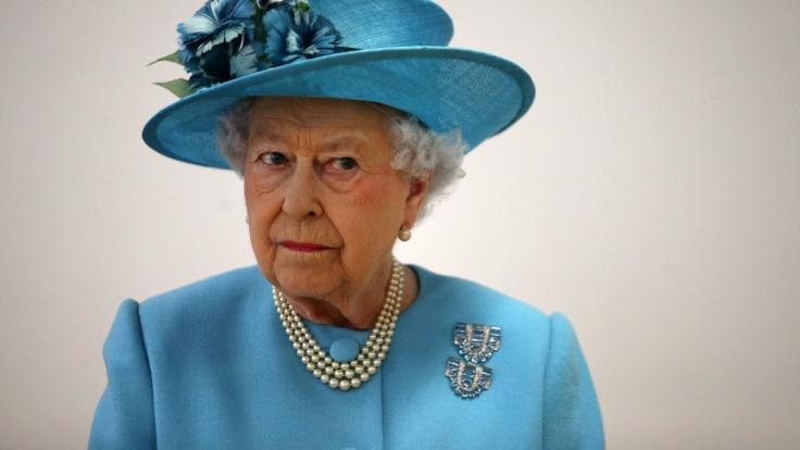 Queen Elizabeth II. wurde in einer WhatsApp-Gruppe für tot erklärt. (Foto)