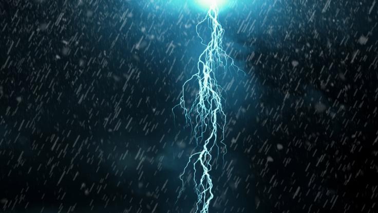 Am Wochenende droht Sturm über Deutschland.