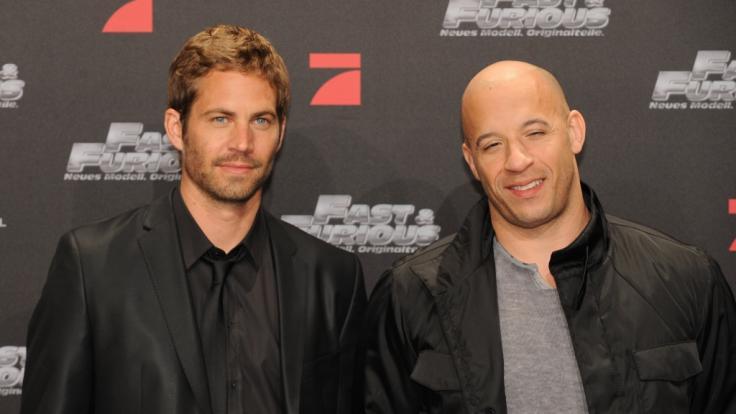 """Vin Diesel: In jedem """"Fast and Furious""""-Film ehrt er seinen verstorbenen Freund Paul Walker, verriet der Actionstar in einem Interview. (Foto)"""