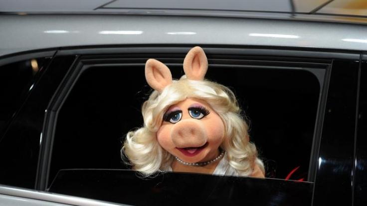 Miss Piggy ist jetzt auch noch eine ausgezeichnete Frauenrechtlerin. (Foto)