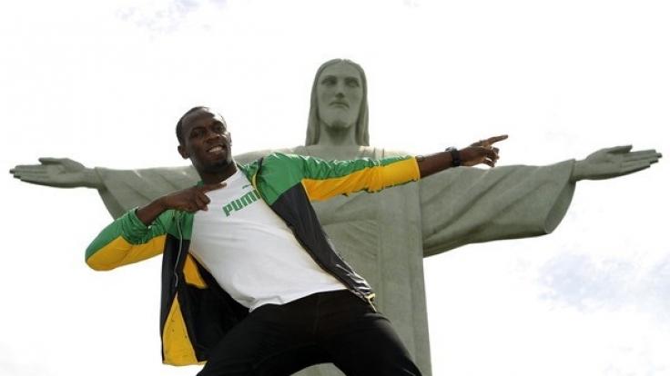 Usain Bolt hat schon die ganze Welt bereist.