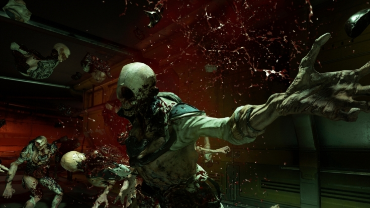 """Wie bereits in seinen Vorgängern geht es auch im neuesten Ableger der """"Doom""""-Reihe wenig zimperlich zu. (Foto)"""