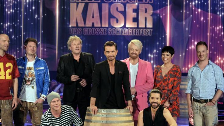 """Florian Silbereisen präsentierte """"Alle singen Kaiser"""" in der ARD. (Foto)"""