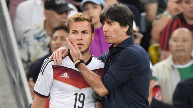 Götze kurz vor seiner Einwechslung im WM-Finale 2016. (Foto)