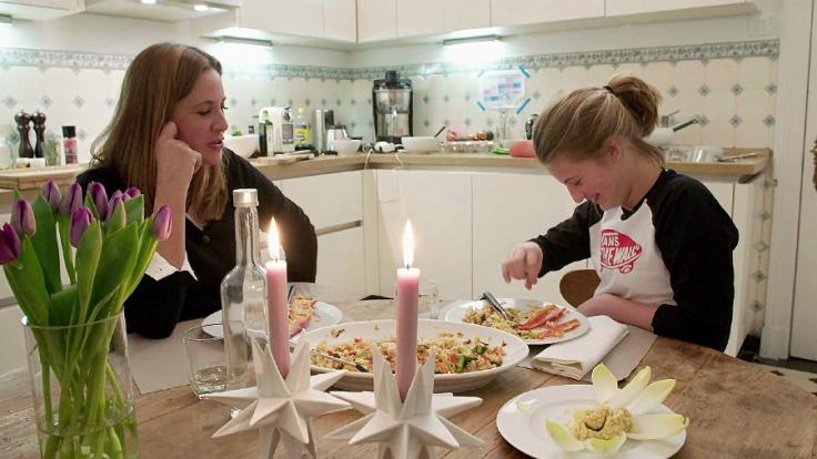 Dana Schweiger mit Tochter Emma.