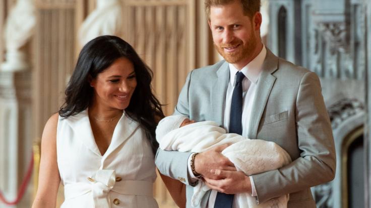 Meghan Markle feiert nach der Geburt von Baby Archie ihren ersten Muttertag.