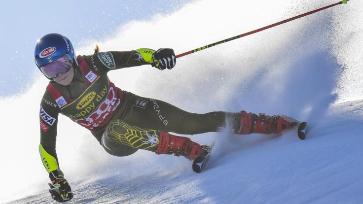 Mikaela Shiffrin (USA) musste ihre Teilnahme beim Riesenslalom in Sölden zum Ski-alpin-Weltcup-Auftakt absagen.