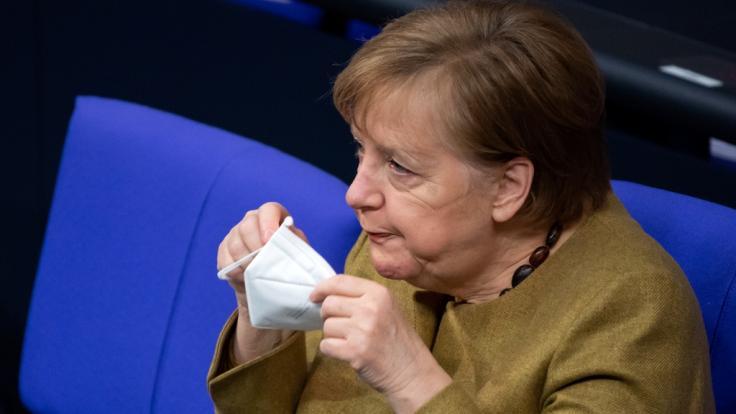 Angela Merkel will mit den Ministerpräsidenten der Bundesländer über das weitere Vorgehen in der Corona-Pandemie beraten - Lockdown-Verlängerung und Schulöffnungen inklusive. (Foto)