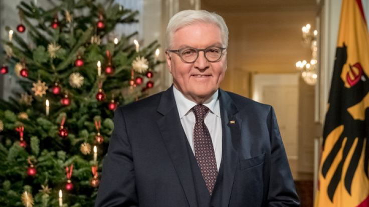 frank walter steinmeier hlt 2017 seine erste weihnachtsansprache als bundesprsident foto - Weihnachtsrede Beispiel