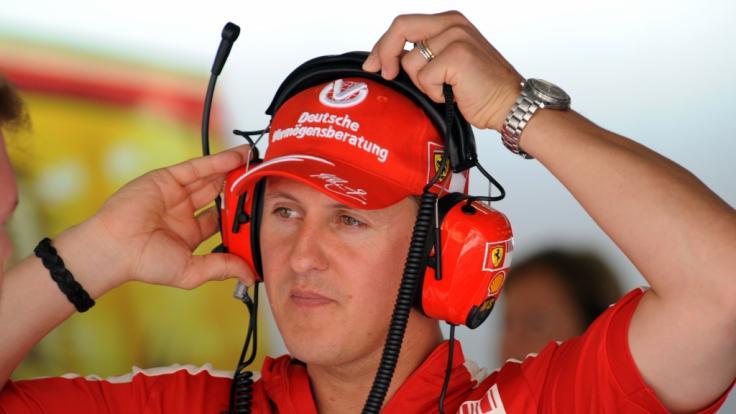 Seit seinem Skiunfall lebt Michael Schumacher abgeschirmt von der Öffentlichkeit. (Foto)