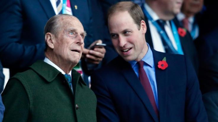 Prinz Philip lag es am Herzen, seinen Enkel Prinz William auf den Thron vorzubereiten (Foto)