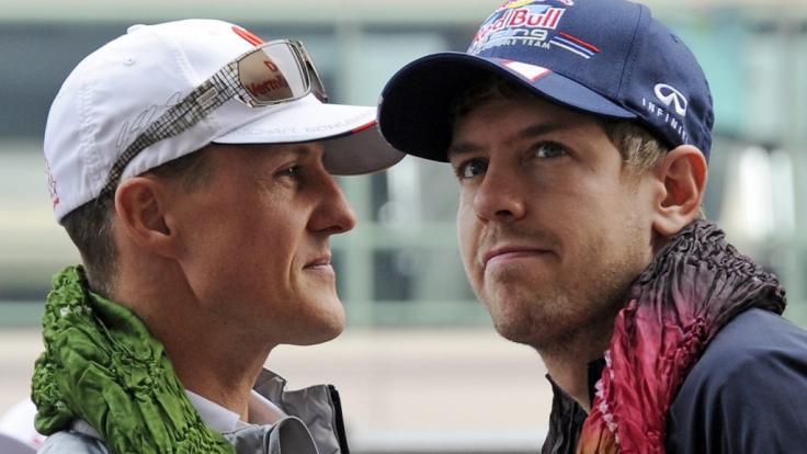 Schumi ist Vettels großer Ansporn.