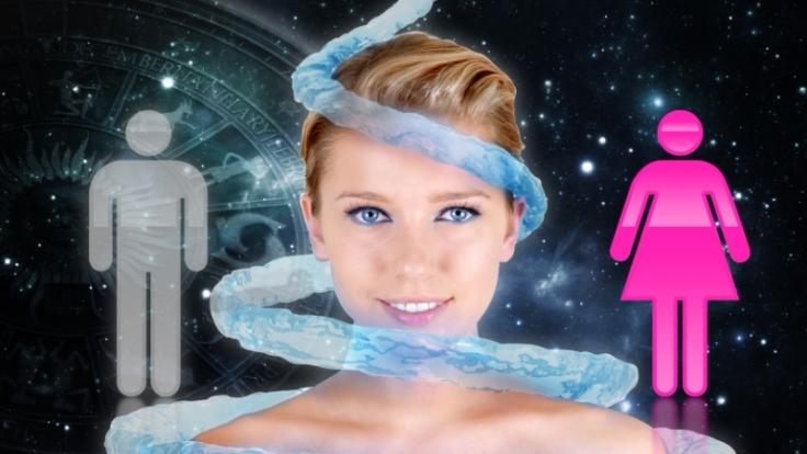 Zärtlich, verständnisvoll, geduldig  Sind alle Frauen mit Sternzeichen Wassermann so? (Foto)