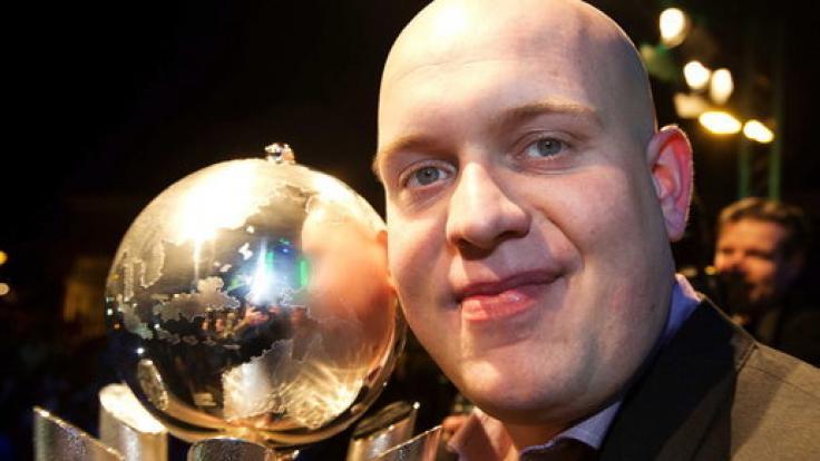 Der Niederländer Michael van Gerwen ist zweimaliger Darts-Weltmeister.