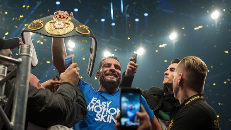Boxweltmeister Schwergewicht
