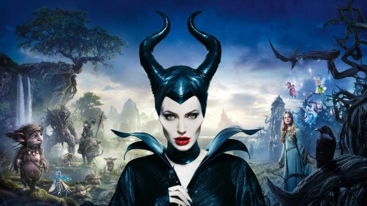 Die dunkle Fee Maleficent wird gespielt von Angelina Jolie. (Foto)