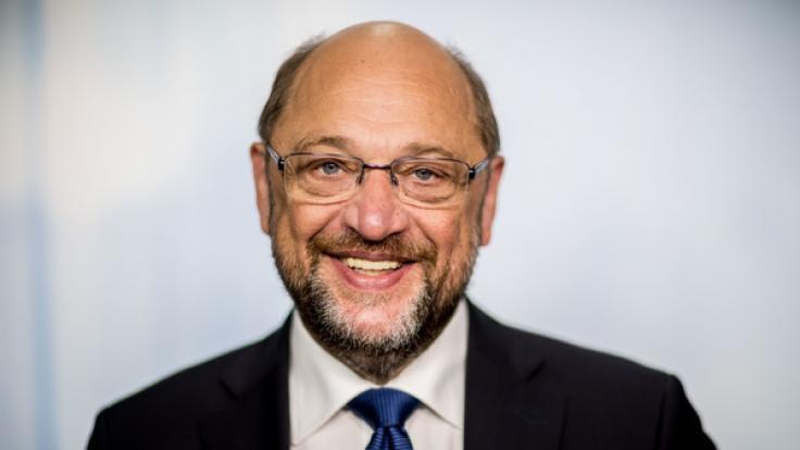 Im ZDF redet SPD-Kanzlerkandidat Martin Schulz am Dienstag