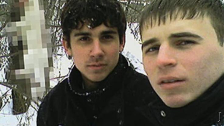 Igor Suprunyuck, Viktor Sayenko und Alexander Hanzha aus Dnepropetrovsk nahmen ihre Taten auf und stellten sie ins Netz. (Foto)