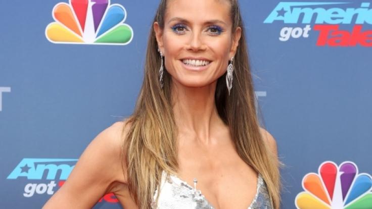Heidi Klum wurde knutschend mit Tom Kaulitz erwischt.