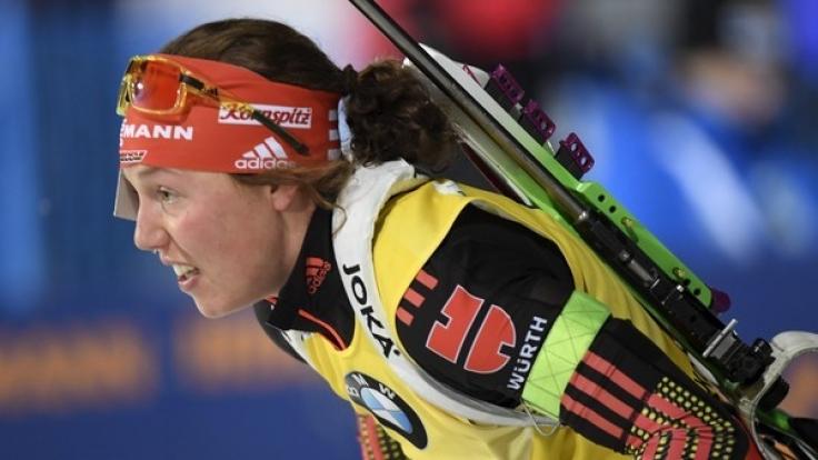 Laura Dahlmeier ist momentan die Überfliegerin im Biathlon.