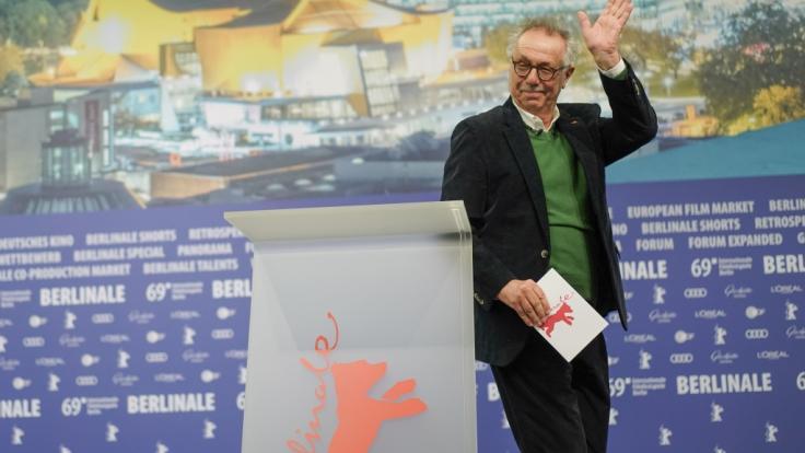 """Festivaldirektor Dieter Kosslick führt zum letzten Mal durch die Internationalen Filmfestspiele, die als """"Berlinale"""" am 7. Februar in Berlin beginnen. (Foto)"""
