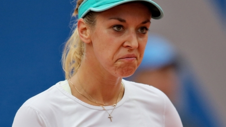 Sabine Lisicki macht auf dem Tennis-Platz nicht immer eine gute Figur. (Foto)