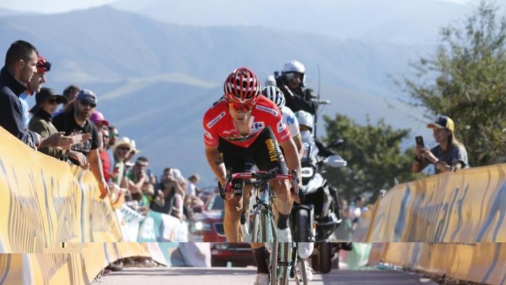 Der Slowene Primoz Roglic konnte sich 2019 als Sieger der Vuelta a Espana durchsetzen - wie wird sich der Radprofi vom Team Jumbo-Visna in diesem Jahr schlagen? (Foto)