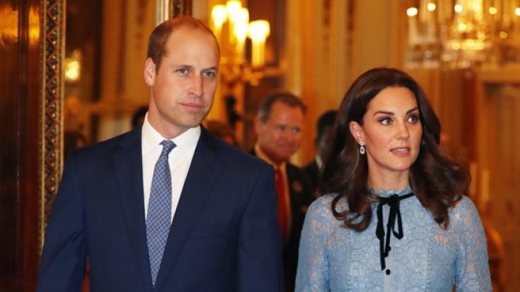 Prinz William und Herzogin Kate bewiesen Humor. (Foto)