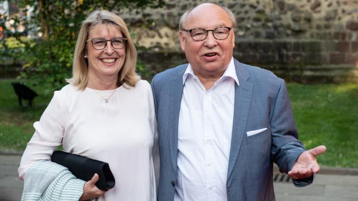 Hans-Joachim Heist alias Gernot Hassknecht besuchte mit seiner Frau Karin die Bad Hersfelder Festspiele 2019. (Foto)