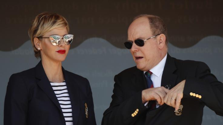 Es wird das erste Mal sein, dass Charlene und Albert von Monaco ihren Hochzeitstag nicht gemeinsam verbringen. (Foto)