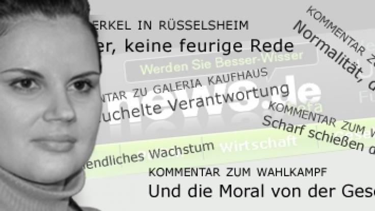 news.de-Redakteurin Fabienne Rzitki (Foto)