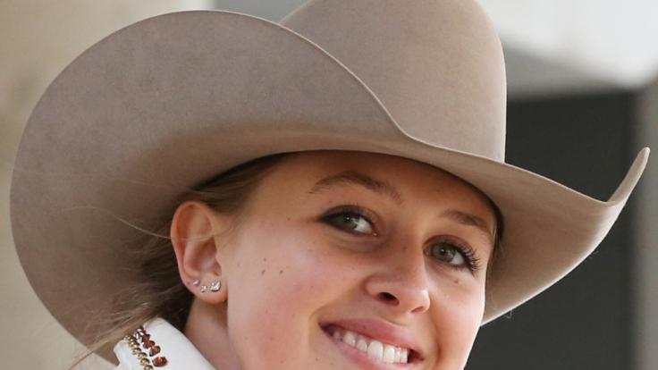 Gina-Maria Schumacher ist erfolgreich im Westernreiten.