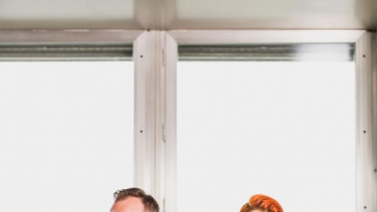 """Bei """"Kitchen Impossible"""" heißt es am Sonntag: Meta Hiltebrand (rechts) vs. Tim Raue. (Foto)"""