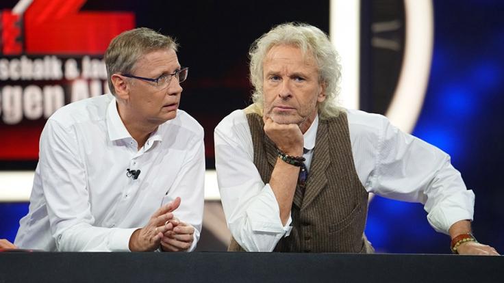 Günther Jauch und Thomas Gottschalk kämpfen gegen 500 Kandidaten. (Foto)