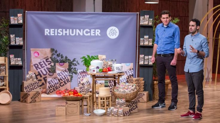"""""""Reishunger"""": Torben Buttjer (l.) und Sohrab Mohammad (r.). (Foto)"""