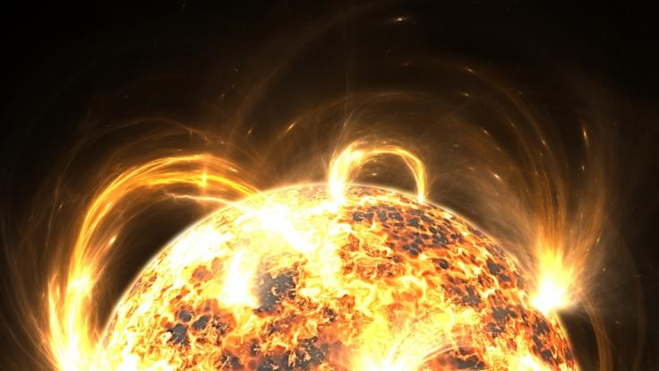 Experten warnten vor einem Sonnensturm. So heftig fiel er wirklich aus. (Foto)