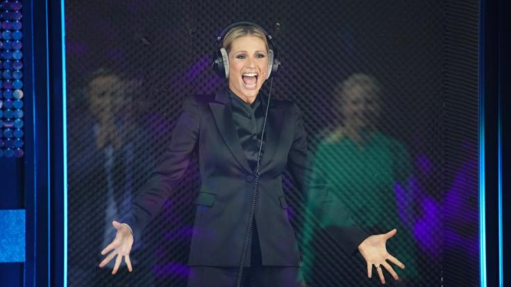 Michelle Hunziker platzt mitten in TV-Show die Hose