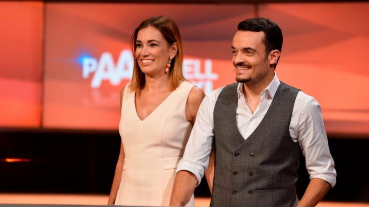 """Giovanni Zarrella und seine Ehefrau Jana Ina treten beim """"Paarduell XXL"""" an. (Foto)"""