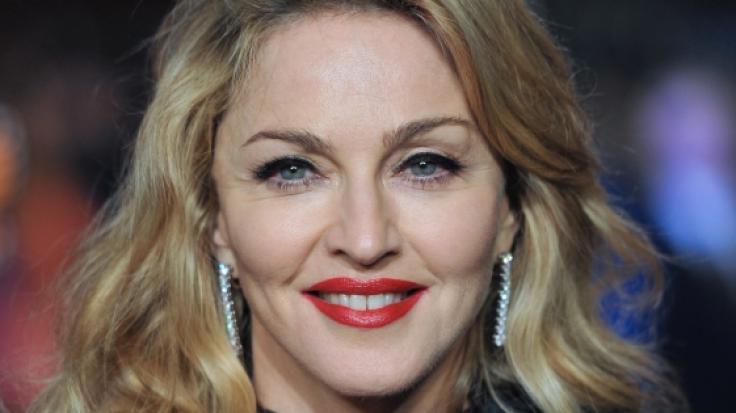 US-Popstar Madonna macht auch mit 60 noch eine super Figur.