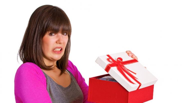 Auch ein gut durchdachtes Geschenk kann mal daneben gehen.